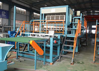 Siemens Motor Waster Paper Egg Tray Machine 400-12000pcs / Hour Production Speed