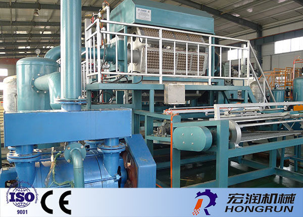 Recycled Paper Apple Tray Making Machine With Multi Layer Drying Line